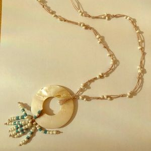 Beautiful Beaded and Shell Necklace